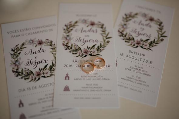 Атмосферная датская свадьба - фото №1