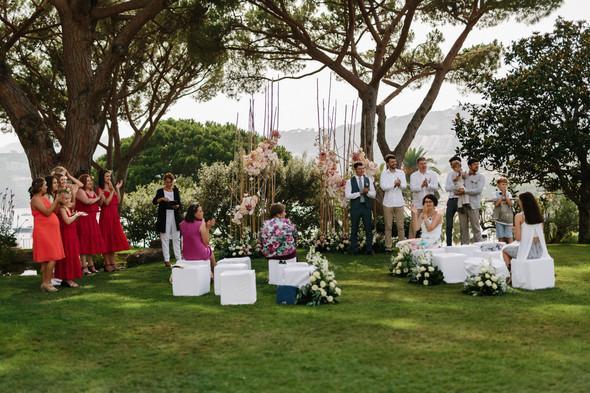 Красивая испанская свадьба на побережье - фото №41