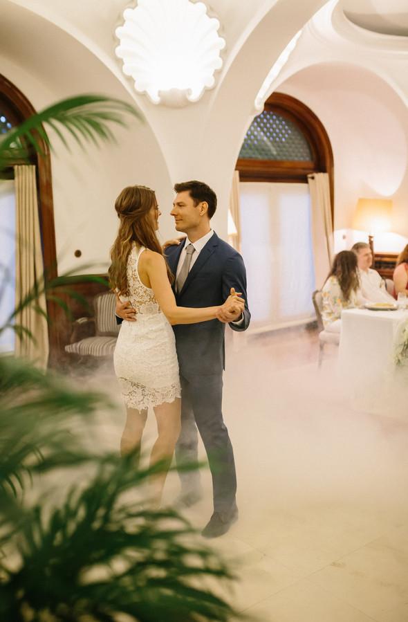 Красивая испанская свадьба на побережье - фото №103