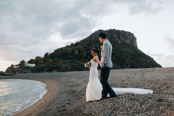 Позитивная семейная свадьба в Италии - фото №116