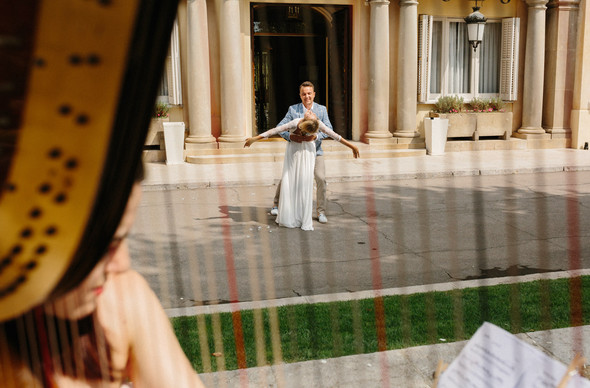 Испанская семейная свадьба на вилле недалеко от Барселоны - фото №43