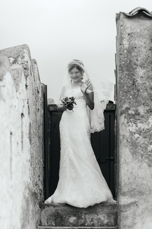 Позитивная семейная свадьба в Италии - фото №63