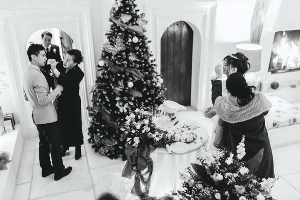 Позитивная семейная свадьба в Италии - фото №132