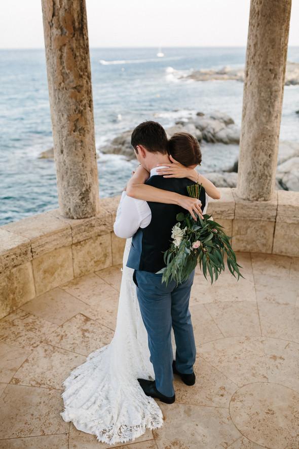 Красивая испанская свадьба на побережье - фото №77
