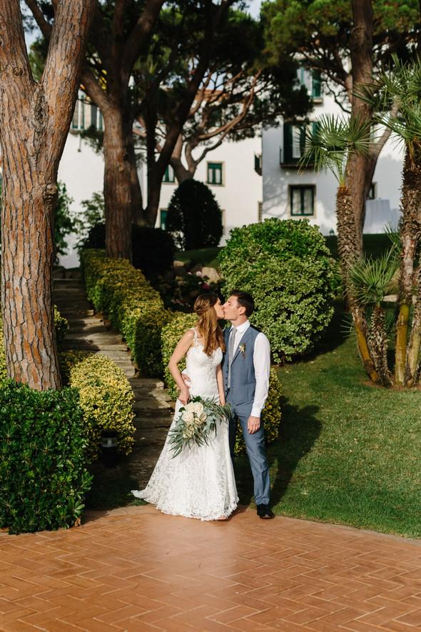 Красивая испанская свадьба на побережье - фото №63