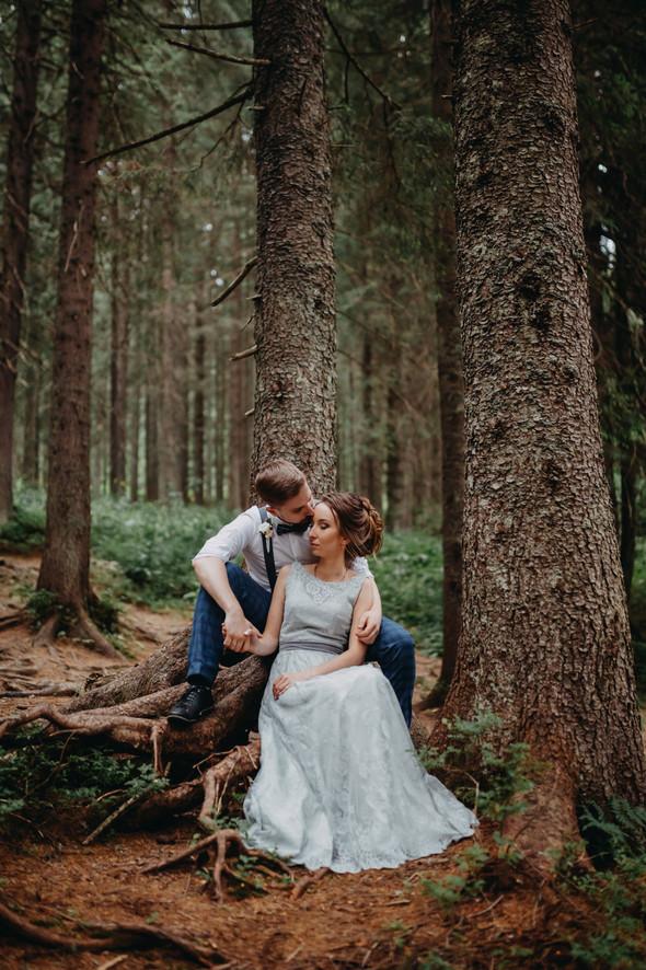 Лесная свадьба в Карпатах - фото №62