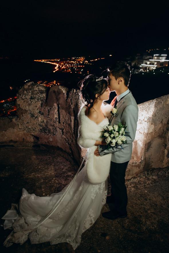 Позитивная семейная свадьба в Италии - фото №133