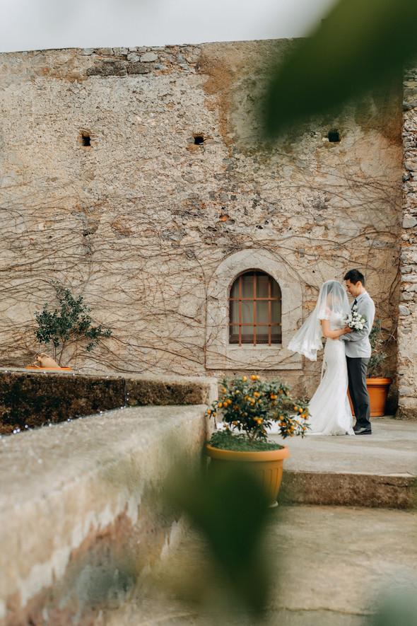 Позитивная семейная свадьба в Италии - фото №92