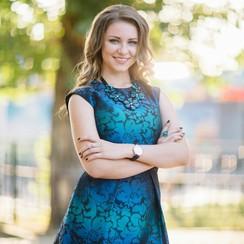 Ведущая Ирина Мешкова - ведущий в Кропивницком - фото 1