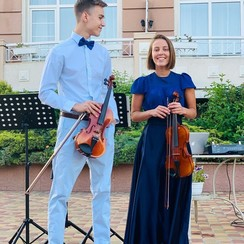 Дуэт скрипачей #TanyaDanya - фото 2