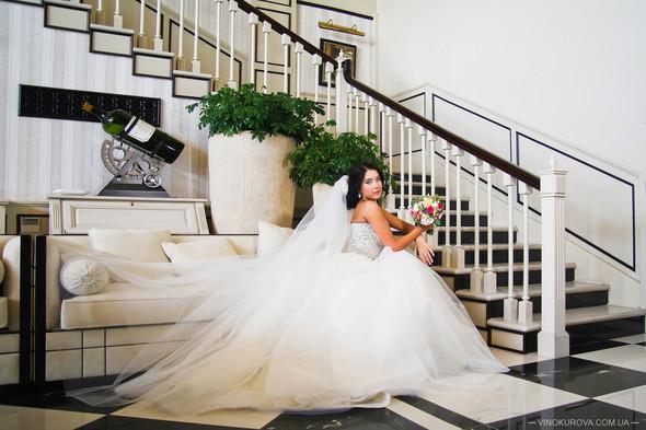 Свадьба Дарины и Максима в стиле Тиффани - фото №30