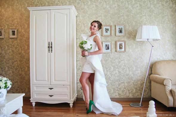 Свадьба Марины и Антона в стиле рустик - фото №8