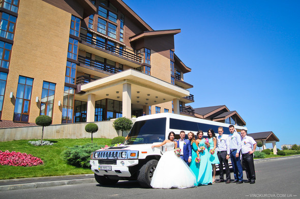 Свадьба Дарины и Максима в стиле Тиффани - фото №21