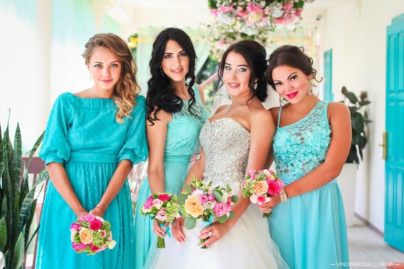 Свадьба Дарины и Максима в стиле Тиффани - фото №14