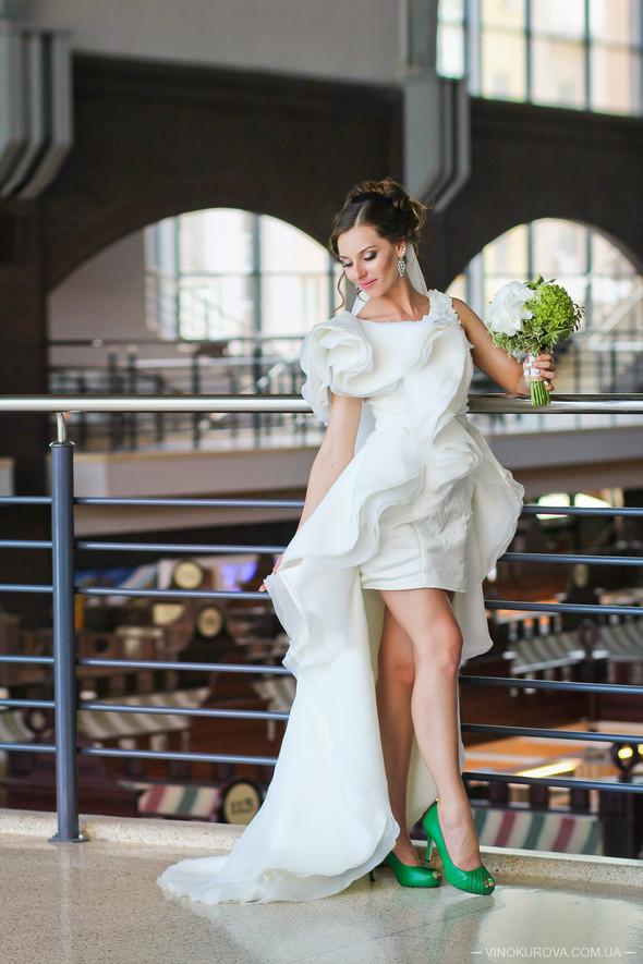 Свадьба Марины и Антона в стиле рустик - фото №17