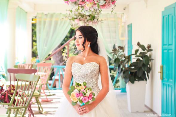 Свадьба Дарины и Максима в стиле Тиффани - фото №11