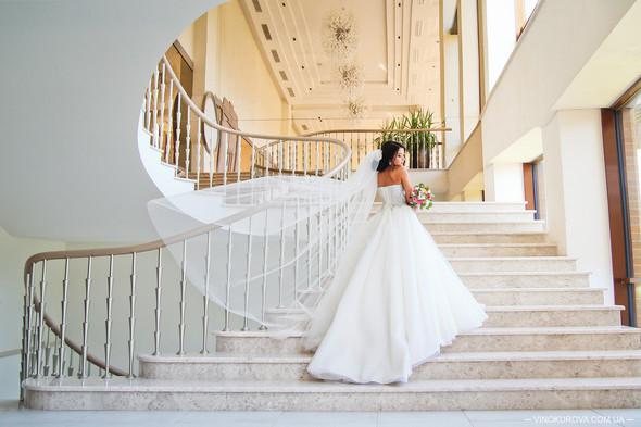 Свадьба Дарины и Максима в стиле Тиффани - фото №27