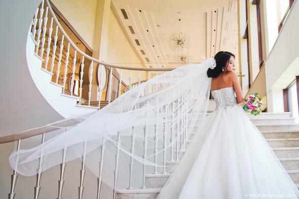 Свадьба Дарины и Максима в стиле Тиффани - фото №28