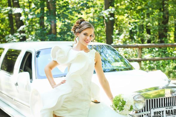 Свадьба Марины и Антона в стиле рустик - фото №23