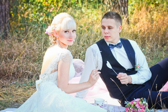 Кружевная свадьба - фото №17