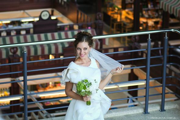 Свадьба Марины и Антона в стиле рустик - фото №15