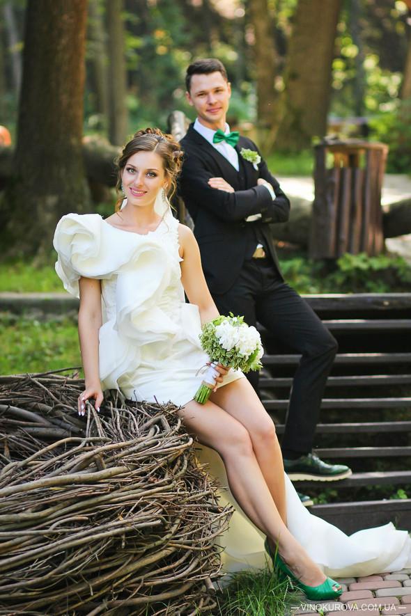 Свадьба Марины и Антона в стиле рустик - фото №34