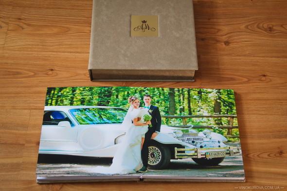 Свадьба Марины и Антона в стиле рустик - фото №45