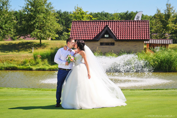 Свадьба Дарины и Максима в стиле Тиффани - фото №23