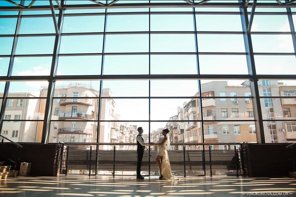 Свадьба Марины и Антона в стиле рустик - фото №12