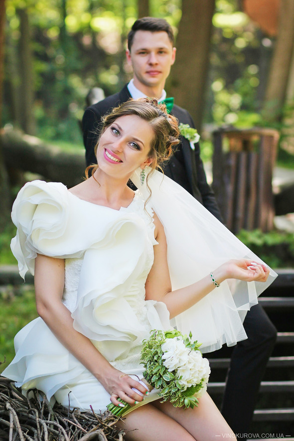 Свадьба Марины и Антона в стиле рустик - фото №37