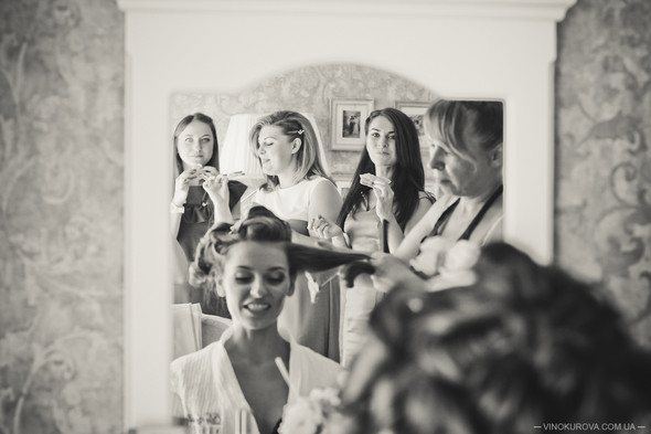 Свадьба Марины и Антона в стиле рустик - фото №5