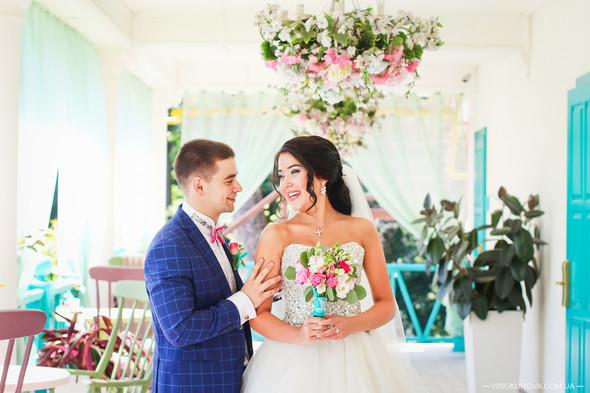 Свадьба Дарины и Максима в стиле Тиффани - фото №10