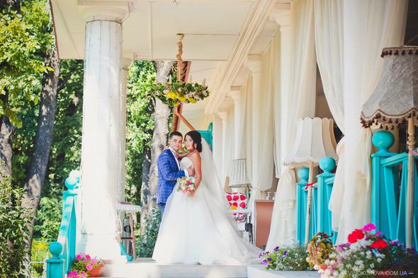 Свадьба Дарины и Максима в стиле Тиффани - фото №18