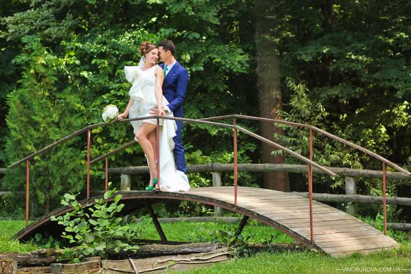 Свадьба Марины и Антона в стиле рустик - фото №25