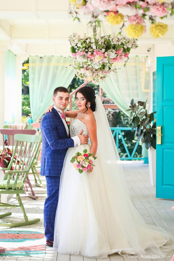 Свадьба Дарины и Максима в стиле Тиффани - фото №9