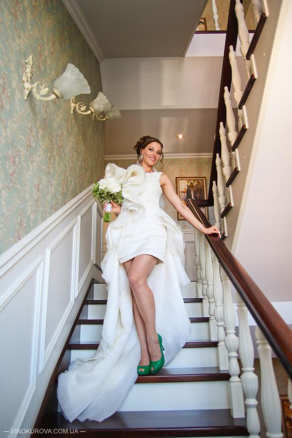 Свадьба Марины и Антона в стиле рустик - фото №11