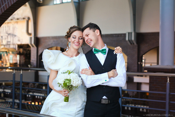 Свадьба Марины и Антона в стиле рустик - фото №14