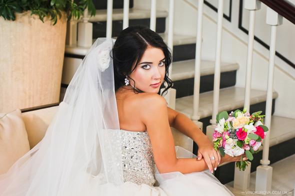 Свадьба Дарины и Максима в стиле Тиффани - фото №29
