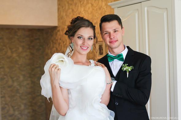 Свадьба Марины и Антона в стиле рустик - фото №10