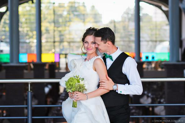 Свадьба Марины и Антона в стиле рустик - фото №16