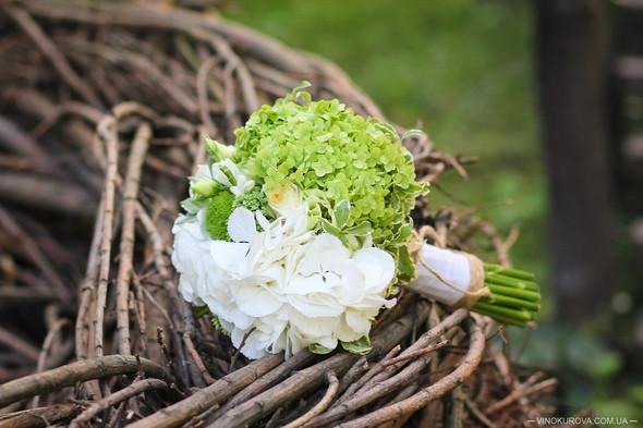 Свадьба Марины и Антона в стиле рустик - фото №35