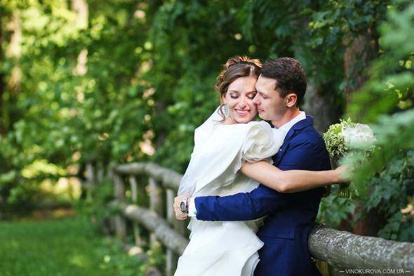 Свадьба Марины и Антона в стиле рустик - фото №29