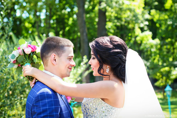 Свадьба Дарины и Максима в стиле Тиффани - фото №3