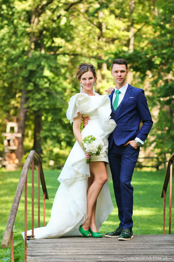 Свадьба Марины и Антона в стиле рустик - фото №26