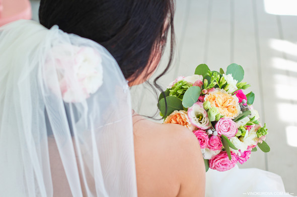 Свадьба Дарины и Максима в стиле Тиффани - фото №12
