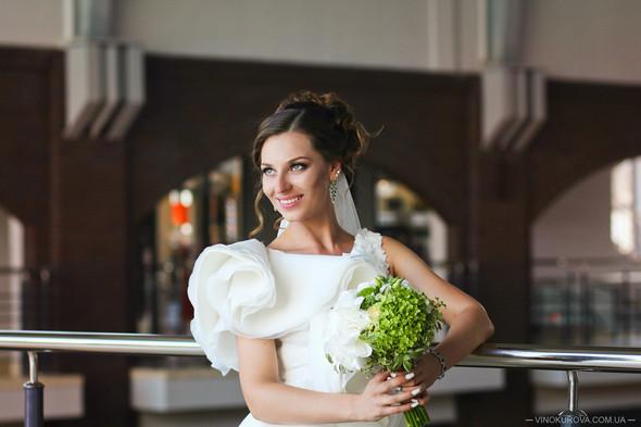 Свадьба Марины и Антона в стиле рустик - фото №18