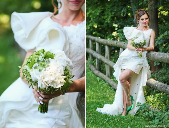 Свадьба Марины и Антона в стиле рустик - фото №28