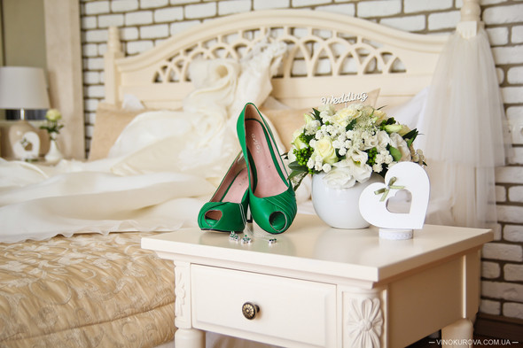 Свадьба Марины и Антона в стиле рустик - фото №3