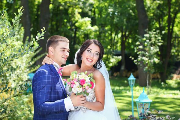 Свадьба Дарины и Максима в стиле Тиффани - фото №2