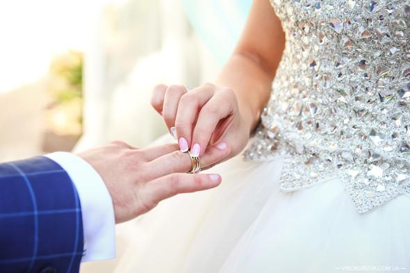 Свадьба Дарины и Максима в стиле Тиффани - фото №25
